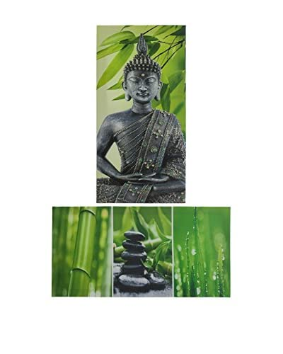 Set Lienzo 2 Uds. Budha