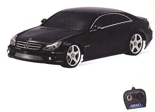Radio Remote Controlled Mercedes-Benz CLS 55 AMG VIP Tuner (1:10 scale by Nikko) in Black