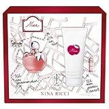 Nina by Nina Ricci 2 Piece Gift Set for Women 1.7 oz. EDT Spray + 3.7 oz. Body Lotion