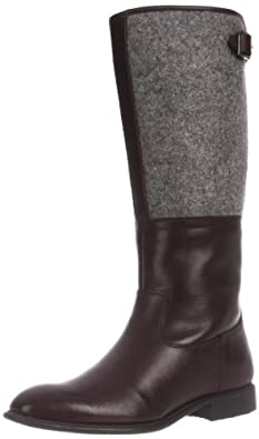 Rockport Women's Lola Pull On Boot,Dark Brown Leather,9.5 M US
