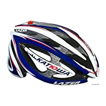Lazer Helium Red/White/Blue XS/S fits 50-56cm Team Issue Road Helmet.