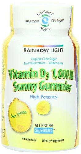 Rainbow Light vitamine D3 (1000 UI) Les