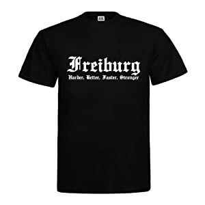 dress-puntos T-Shirt Freiburg Harder, Better, Faster, Stronger 20drpt15-t00062