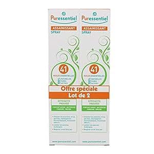 Puressentiel Spray assainissant aux 41 Huiles Essentielles Lot de 2