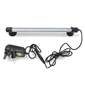 Amzdeal® 28CM 30 LED Diving Lighting Under Water Lights for Aquarium Fish Tanks+UK Charger (RGB) from Amzdeal