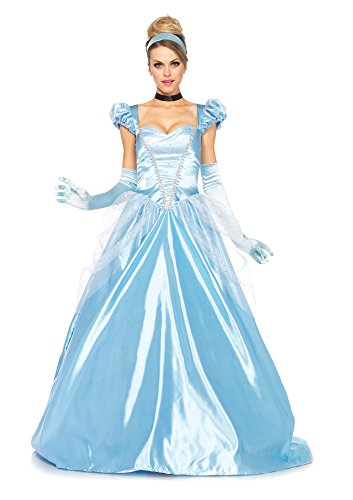 3 PC. Ladies Classic Cinderella Gown Set