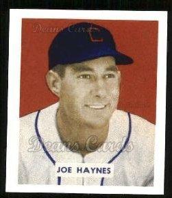 1949 Bowman REPRINT # 191 Joe Haynes Chicago White Sox (Baseball Card) Dean's Cards 8 - NM/MT