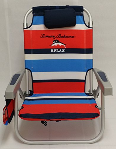 Tommy Bahama Backpack Beach Chair (red)