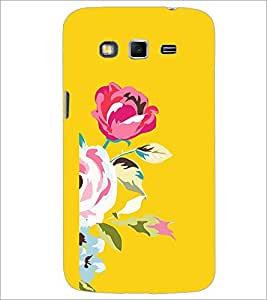 Printdhaba Flower D-1981 Back Case Cover For Samsung Galaxy Grand 2