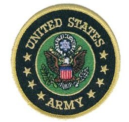US Army Small Round Patch