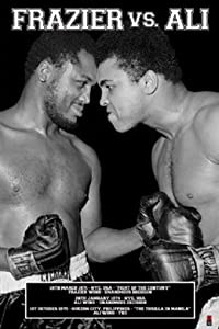 Muhammad Ali Vs. Joe Frazier Boxing Sports Poster 24 x 36 inches