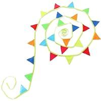 DOPPELGANGER(ドッペルギャンガー) アウトドア リサイクルエコフラッグ RE1-148 【 ガーランドとしてテントの飾り付け ロープのつまづき防止などに 】