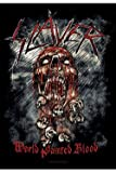 Slayer Textil-Poster World Painted Blood 75 x 110 cm