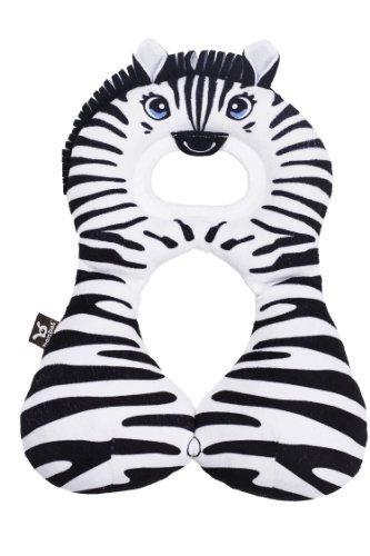 Benbat Travel Friends Head/Neck Support, Zebra - 1