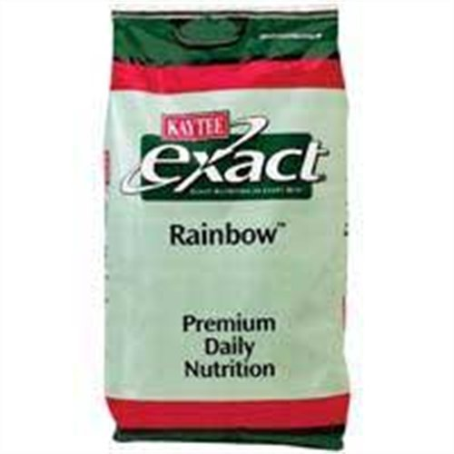 Kaytee Exact Rainbow Food Chunky for Parrots, 20-Pound Bag, Large