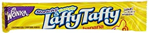 Wonka Laffy Taffy Banana, 1.5-Ounce Packages (Pack of 48)