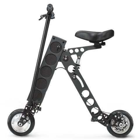 Find Bargain URB-E Black Label Electric Folding Scooter