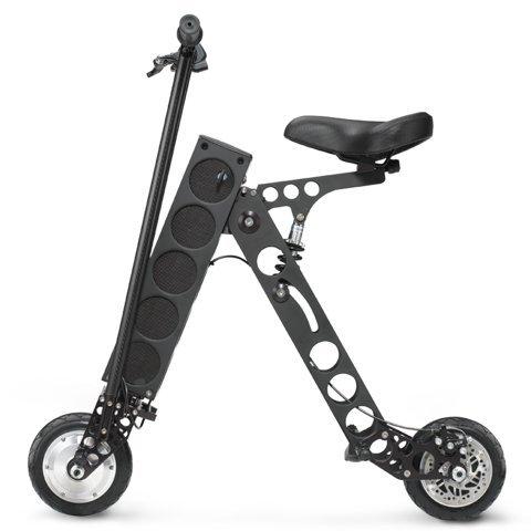 Find Bargain URB-E Black Label Electric Folding Scooter