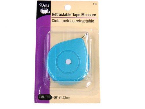 Dritz Retractable Tape Measure, Mint 60