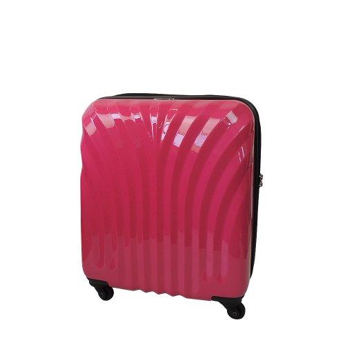 【 President 】スーツケース キャリーバッグ  機内持込みサイズ TSAロック搭載 【シェルドスペシャルキャビン】3年保証 6COLOR 【機内持込みMAXサイズ】 (ピンク)