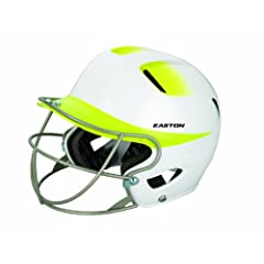 Buy Easton Senior Natural 2Tone Batting Helmet with Softball Mask by Easton