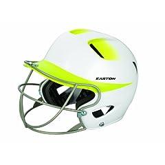 Easton Senior Natural 2Tone Batting Helmet with Softball Mask by Easton