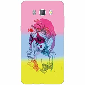 Samsung J7 new edition 2016 Back Cover - Silicon Abstract Art Designer Cases