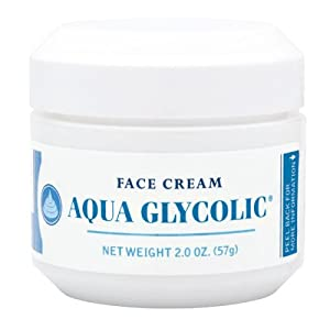Aqua Glycolic Face Cream, 2-Ounces