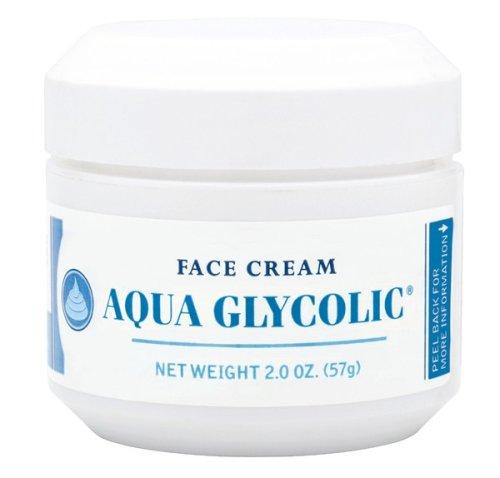 Aqua Glycolic Face Cream, 2-Ounces