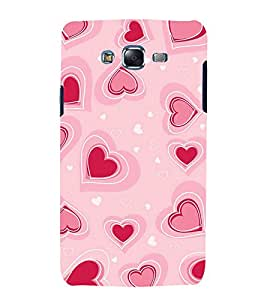 printtech Love Heart Pattern Back Case Cover for Samsung Galaxy Grand Prime G530h