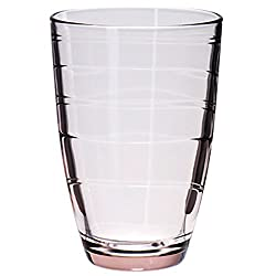 Pasabahce Workshop Mexico Tumbler,Pink,360 ml,Set of 6