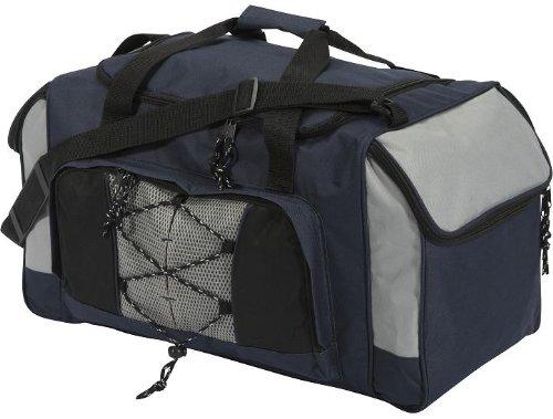 Reisetasche Sporttasche blau-grau ca. 57x30x32cm