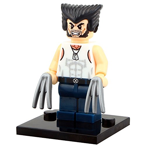 Wolverine / Logan Lego Mini Figure