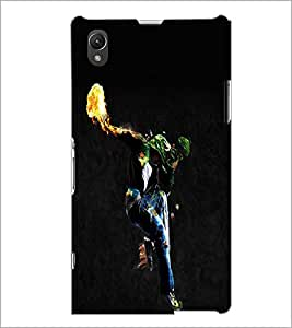 PrintDhaba Dancing Boy D-2212 Back Case Cover for SONY XPERIA Z1 (Multi-Coloured)