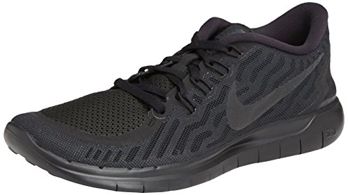 Women's Nike Free 5.0 Running Shoes Black/Anthracite Size 8 M US