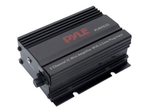 2 Channel 300 Watt Mini Amp3.5Mm Input