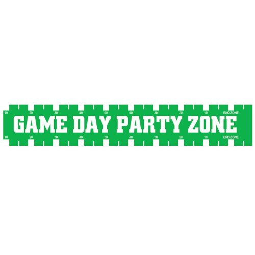 Game Day Party Zone Party Tape Party Accessory (1 count) (1/Pkg)