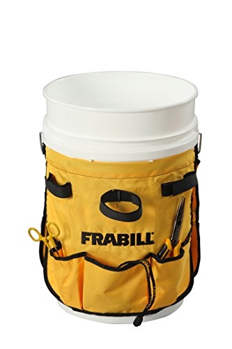 Frabill ice fishing pail pack home garden kitchen dining for Ice fishing bucket
