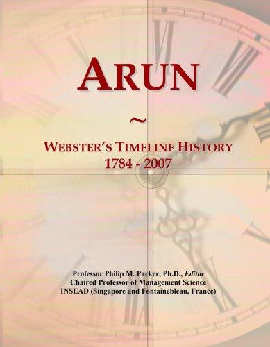 arun-websters-timeline-history-1784-2007