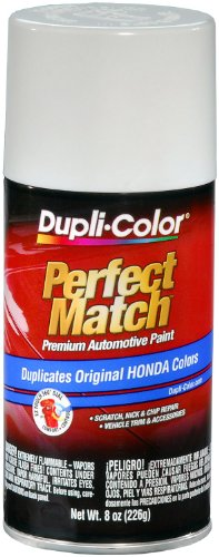Dupli-Color BHA0950 Frost White Honda Exact-Match Automotive Paint - 8 oz. Aerosol (1993 Honda Accord Touch Up Paint compare prices)