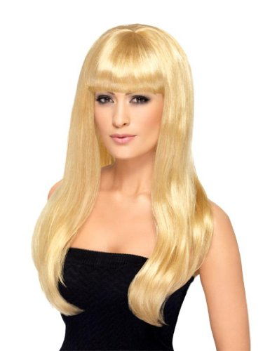 Smiffy'S Babelicious Wig, Blonde, One Size