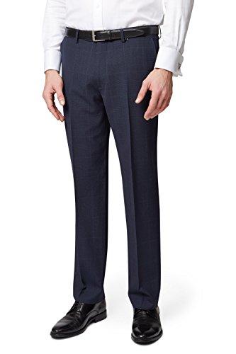 ermenegildo-zegna-cloth-mens-regular-fit-blue-check-suit-trousers-34r-blue