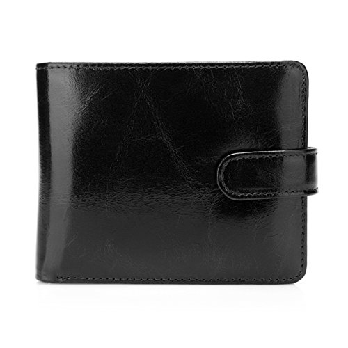 pelotas-classic-distressed-leather-trifold-mens-wallet-black