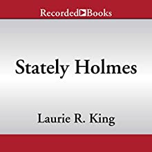 Stately Holmes Audiobook by Laurie R. King Narrated by Jenny Sterlin