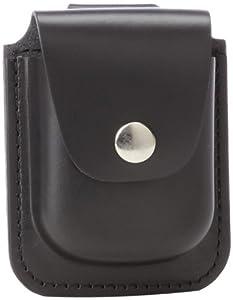 Charles-Hubert, Paris 3572-6 Black Leather 56mm Pocket Watch Holder