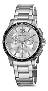 Maurice Lacroix Men's MI1098-SS042130 Miros Sport Silver Chronograph Dial Watch by Maurice Lacroix