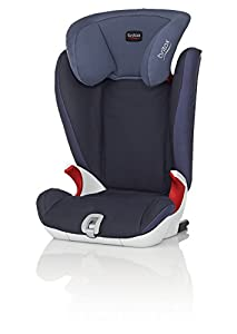 Britax KIDFIX SL Group  2/3 4 - 12  Years High-Backed Booster Car Seat (Crown Blue)