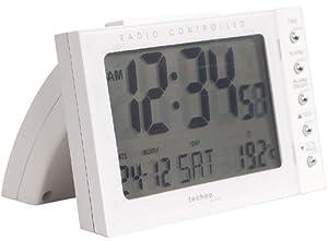 Technoline WT 188 - relojes de mesa (11.5 cm, 7.3 cm, 7.5 cm, LCD, AA Mignon LR06) Color blanco marca Technoline