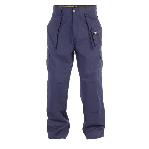 Caterpillar C820 Cargo Work Trouser Short Leg / Mens Trousers (34W x Short) (Navy)