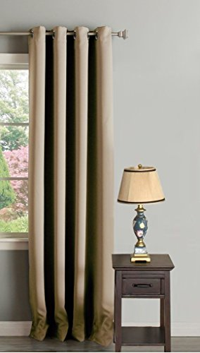 H Versailtex Clearance Curtains Innovated Microfiber Thermal Insulated Blackout Window Curtains